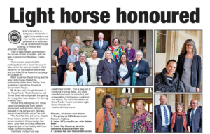 Light Horse article in Koori Mail